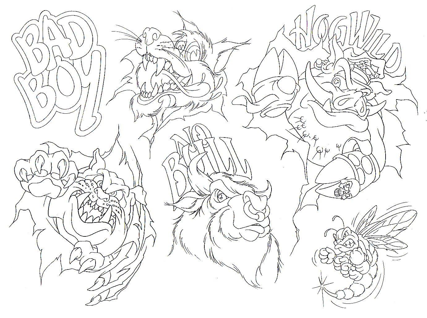 Tattoo Drawing Designs